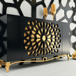 Buffets sideboards find credenzas and buffet table ideas online - Frank boca do lobo chest of drawers style and functionality ...