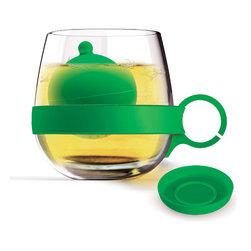 Adnart - Tea Balls Mug - Green - Tritan water bottle with built in fruit infuser
