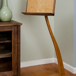 Cherry and Walnut SM Music Stand - Stuart Mono