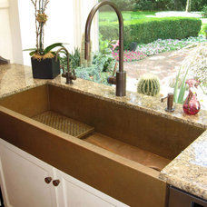 Eclectic Kitchen Sinks by Rachiele, LLC