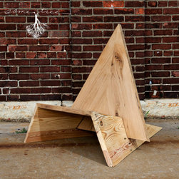 The Triangle Chair // Same Tree // The Purposed Collection - Darrin Hackney
