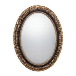 Savoy House - Savoy House 4-BLGFOV05122 Jasmine Mirror in Gold 4-BLGFOV05122 - Savoy House isn't just for lighting of the highest quality and best craftsmanship-this elegant mirror is another way to bring the excellence of Savoy to your home.Extends: 2 Finish: Gold Height: 48 Width: 37