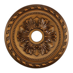 ELK Lighting - ELK Lighting M1005AB Corinthian Lighting Accessories in Antique Bronze - This Medallion from the Corinthian collection by ELK will enhance your home with a perfect mix of form and function. The features include a Antique Bronze finish applied by experts. This item qualifies for free shipping!
