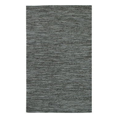 Cardigan rug in Charcoal - Subtle color variation and cozy texture give Cardigan universal appeal. Woven of premier New Zealand Wool.