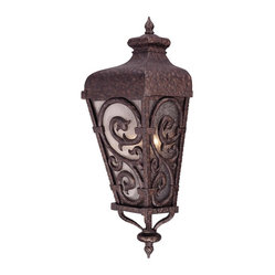 "Savoy House - Spaniard Pocket Lantern - This remarkable lantern greets you and your visitors with an inviting, ""Buenos Noches."" Full of texture and rich in character, it features pronounced points that are contrasted by soft rounded edges."