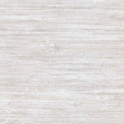 Patton - Ch28277 Oriental Faux Grasscloth Wallpaper - CH28277 from Texture Style is a grey faux grasscloth wallpaper.