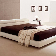 Modern Beds Logan Leather Bed By Cattelan Italia