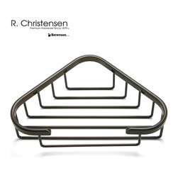 5315US10B Oil Rubbed Bronze Shower Basket by R. Christensen - 8-1/2 inch wide shower basket by R. Christensen in Oil Rubbed Bronze.