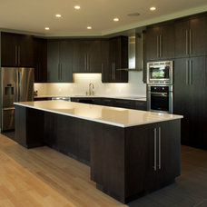Contemporary Kitchen Cabinets by Kroeker Cabinets