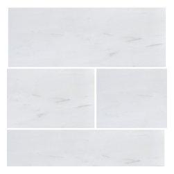 Stone & Co - Bianco Dolomiti 3x9 Polished Marble Tile - Finish: Polished