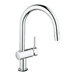 Grohe - Grohe 31359000 Touch Activated - Chrome Minta Series One Handle Kitchen Faucet - Minta Touch