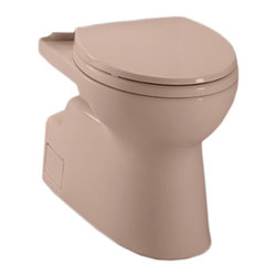 Toto - Toto CT474CEFG#03 Bone Vespin II Two-Piece High-Efficiency Toilet Bowl, 1.28GPF - The Vespin series features a contemporary design and skirted styling that will make a sleek, subtle addition to any bath.