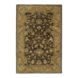 Regency 7000-27 Taupe Rug - Mystical Garden is a statement of style and personal taste. Completely handcrafted from 100% virgin wool,? this collection of timeless designs offers the flexibility and durability for today's hectic lifestyle while offering elegance and beauty rarely seen. Hand crafted in India.