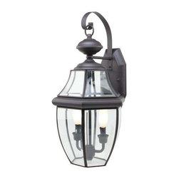 Trans Globe Lighting - Trans Globe Lighting 4320 BK Outdoor Wall Light In Black - Part Number: 4320 BK