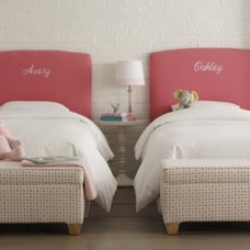 Contemporary Headboards by Rosenberry Rooms