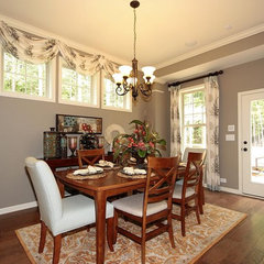 traditional dining room by David Weekley Homes