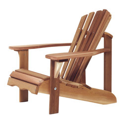 All Things Cedar - All Things Cedar CA14U Child Adirondack Chair - Perfect Miniature Adirondack Chair - Suitable For Most Children 2 - 7 Years In Age    Dimensions:   24 x 30 x 27 in. (w x d x h)