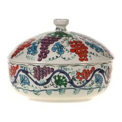 Turkish Covered Dish, Design A - Turkish Covered Dish