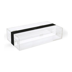 """Russell + Hazel - Large Curiosities Box by Russell + Hazel - Polished edge construction. Polished nickel hinges. Holds 11 x 17"""" documents. Clean with water only, to prevent damage."""