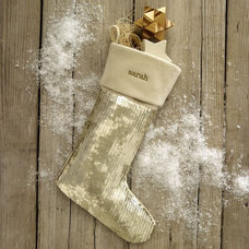 Eclectic Christmas Stockings And Holders by West Elm