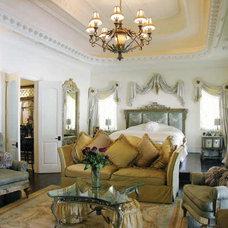Mediterranean Living Room by Dallas Design Group