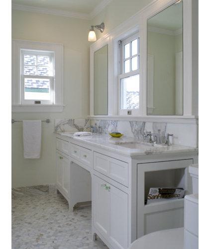Traditional Bathroom by Jack Backus Architects