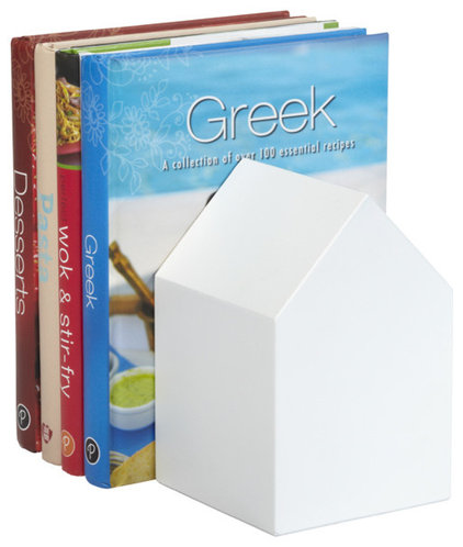 Contemporary Bookends by The Container Store