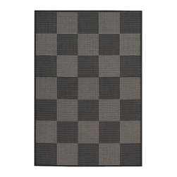 """Couristan - Tides Concord Rug 0088/4088 - 2' x 3'7"""" - Tastefully simple these durable, weather-defying area rugs are suitable for indoor and outdoor use. You'll love the way their warm, neutral color-schemes coordinate with today's most popular outdoor furniture pieces. Perfect for patio decks, kitchens and entryways the simplicity and practicality of each design offered in Tides will provide your setting of choice with an universal appeal."""