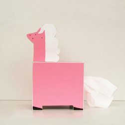 Pony Tissue Holder by SPARKLY PONY - Quirk is key. This Pony Tissue Holder is cute and quirky all in one. Tissue is always a must, so why not make it a statement piece?