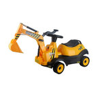 Vroom Rider - Vroom Rider Ride-on 4-Wheel Excavator Battery Powered Riding Toy - VREX04 - Shop for Tricycles and Riding Toys from Hayneedle.com! Your own backyard will transform into a construction site when your little Bob the Builder rides the Vroom Rider Ride-on 4-Wheel Excavator Battery Powered Riding Toy Switch it to the 'forward' position and press the 'Go' button to move the four-wheel excavator forward or the 'backward' position for reverse. A real working lever makes scooping up dirt more fun while music and horn build up enough fanfare for the little construction hero. For ages 2 to 5 years. Weight capacity: 66 lbs. Includes 6V 4.5AH rechargeable battery with runtime of 1 to 2 hours. About Vroom RiderConsidering the safety and well being of a child as being of paramount importance Vroom Rider a Merske LLC company enforces very strict safety and quality tests to make their toys absolutely safe to use. They believe that entertainment is crucial for children's development and achievement of new skills which is why they hire only specialists within the industry to research and design products that are safe useful durable and affordable. By using their own products in their homes as well as listening to their customers' feedback Vroom Rider is able to offer products that consistently meet their customer's expectations.