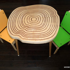 Modern Kids Chairs by Etsy