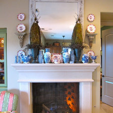 Traditional Family Room by Kari McIntosh Design