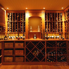 Traditional Wine Cellar by Papro Consulting - Wine Cellars