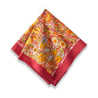 "Jardin Napkins, Red/Yellow, 19""x19"""