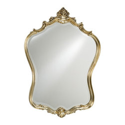 Afina - Timeless Tradition Glamour Mirror - 24W x 35H in. - TT-119-WT - Shop for Bathroom Mirrors from Hayneedle.com! The Timeless Tradition Glamour Mirror lives up to its name with a look and style that exudes classic elegance. Its detailed wood frame surrounds a beveled edge mirror and is cut to a distinctive shape that harkens an era gone by. Intricate details and finish options of antique white antique silver or antique gold make it an ideal addition to a variety of room settings. Use in the bedroom living area or foyer to add light and openness to your wall space.About AfinaAfina Corporation is a manufacturer and importer of fine bath cabinetry lighting fixtures and decorative wall mirrors. Afina products are available in an extensive palette of colors and decorative styles to reflect the trends of a new millennium. Based in Paterson N.J. Afina is committed to providing fine products that will be an integral part of your unique bath environment.