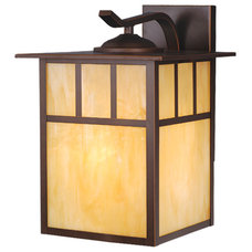 Traditional Outdoor Wall Lights And Sconces Mission Burnished Bronze Outdoor Wall Sconce