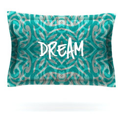 "Kess InHouse - Caleb Troy ""Tattooed Dreams"" Pillow Sham (Cotton, 30"" x 20"") - Pairing your already chic duvet cover with playful pillow shams is the perfect way to tie your bedroom together. There are endless possibilities to feed your artistic palette with these imaginative pillow shams. It will looks so elegant you won't want ruin the masterpiece you have created when you go to bed. Not only are these pillow shams nice to look at they are also made from a high quality cotton blend. They are so soft that they will elevate your sleep up to level that is beyond Cloud 9. We always print our goods with the highest quality printing process in order to maintain the integrity of the art that you are adeptly displaying. This means that you won't have to worry about your art fading or your sham loosing it's freshness."