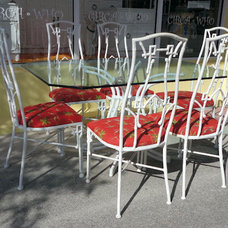 Tropical Outdoor Dining Tables by CIRCA WHO