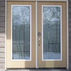 Modern Front Doors by MPD Glass & Vinyl Graphics