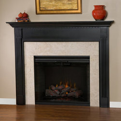 Shasta Wood Fireplace Mantel - The attention to detail in the Shasta Wood Fireplace Mantel is remarkable, and it is sure to hold all of your guests spellbound.