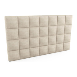 "Viesso - Upholstered Headboard - 84""l x 48""h x 5""d - There are also options such as quilting, storage and tufting for these pieces, and many fabric options as well. We can build them to the inch if needed in addition to our many size options below."