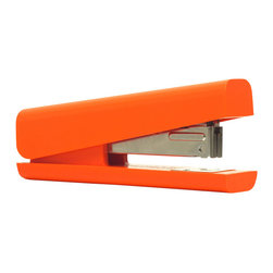 ANYTHING - Stapler - Designed to fit comfortably in your hand, this stapler is a melding of good design and efficient mechanics. Part of an award-winning accessory collection, it can be stored horizontally or on end, giving you extra space on your desk.
