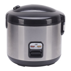 SPT - SPT 6 Cups Rice Cooker with Stainless Body 4.85 lbs From Vistastores -