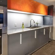 Contemporary Kitchen Cabinets by Pedini Calgary