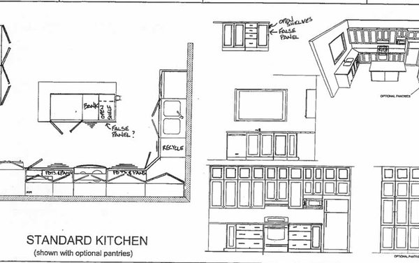 Help with French Door Refrigerator next to 33'' Wall