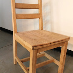 solid oak dining chair - Made by http://www.ecustomfinishes.com