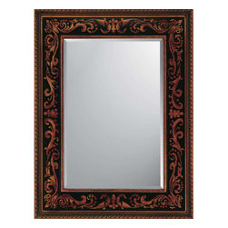 Paragon - Black/Gold Medieval - Mirrors Decorative - Each product is custom made upon order so there might be small variations from the picture displayed. No two pieces are exactly alike.