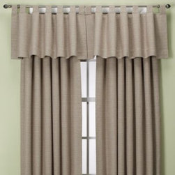 Zorlu Usa Inc. - Union Square Rod Pocket/Back Tab Window Panel - These textured window treatments with a waffle weave design add dimension to your windows and offer a modern look with classic appeal to your decor. The woven fabric drapes beautifully and feels great as well.