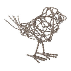 Nickel Scribble Bird, Small