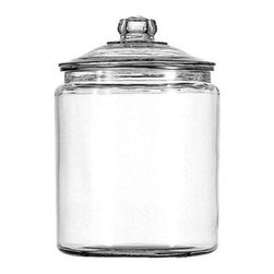 Anchor Hocking - 2 Gallon Heritage Hill Jar with Cover - 2 Gallon Heritage Hill Jar and Cover Clear.